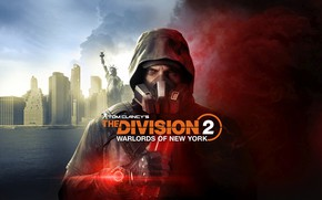 Picture look, mask, soldiers, Tom Clancy, Tom Clancy's The Division 2