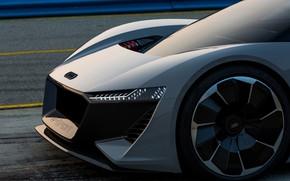 Picture grey, Audi, 2018, the front part, PB18 e-tron Concept