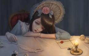 Picture Paper, Doll, Pen