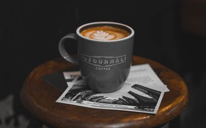 Picture coffee, Cup, cappuccino