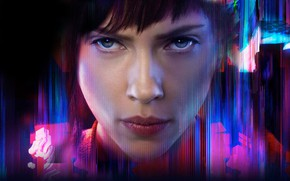 Picture look, Scarlett Johansson, Ghost in the Shell