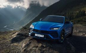 Picture blue, Lamborghini, Lamborghini, urus