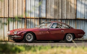 Picture Lamborghini, Classic, 1966, Classic car, Gran Turismo, 400 GT, Lamborghini 400 GT