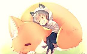 Picture boy, Fox, Fox