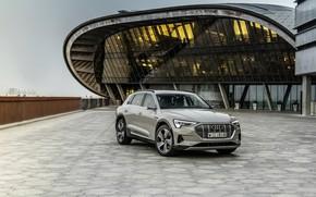 Picture Audi, crossover, E-Tron, 2019, electrocreaser