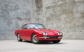 Picture Red, Classic, Lamborghini 400GT