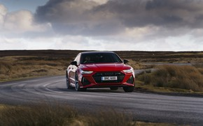 Picture Audi, on the road, RS 7, 2020, UK version, RS7 Sportback