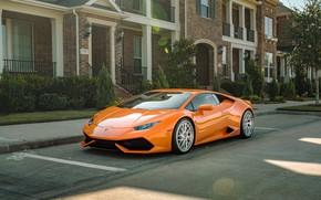 Picture Lamborghini, LAMBORGHINI, Huracan, Lamborghini Huracan, HURACAN, BOREALIS, ORANGE
