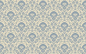Picture flowers, pattern, ornament, style, vintage, ornament, seamless, victorian