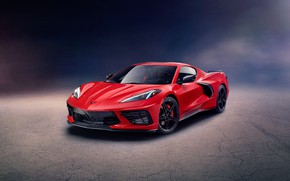 Picture Corvette, Chevrolet, Stingray, 2020, C8