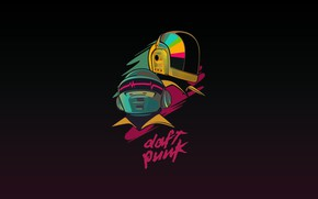 Wallpaper Minimalism, Music, Background, Daft Punk, Thomas Bangalter, Daft Punk, Mask, Guy Manuel de Homem Christo, ...