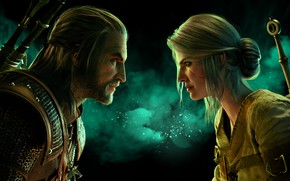 Picture Geralt of Rivia, The Witcher 3: Wild Hunt, Cirilla, Gwent: The Witcher Card Game, GWENT
