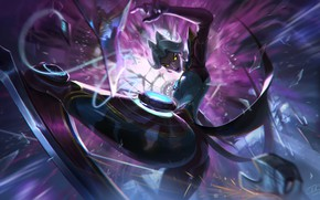 Picture Girl, The game, Girl, Art, Art, Game, League of Legends, LoL, Camille, Character, Awake, Character, …