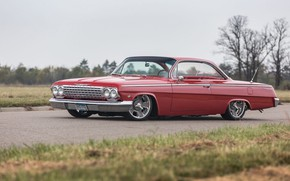 Picture Chevrolet, Car, Classic, Bel Air, Old, Vehicle