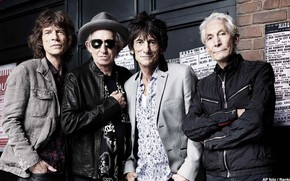 Picture Rolling Stones, Mick Jagger, Keith Richards, Charlie Watts, Ronnie Wood, The Rolling Stones