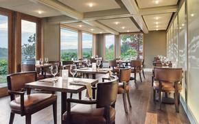 Picture interior, restaurant, the hotel, San Juan Island, Bluff Restaurant, Friday Harbor House