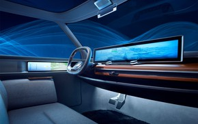 Picture screen, interior, Honda E