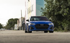 Picture Audi, Blue, Sport, Before, RS6, VAG
