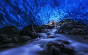 Picture Iceland, East, Skaftafell, Into The Ice Cave