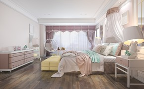 Picture furniture, bed, interior, chair, children's room