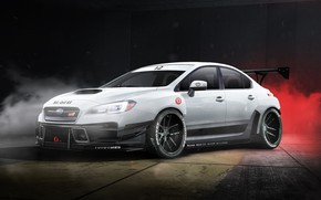 Picture Auto, White, Subaru, Machine, Subaru WRX STI, Transport & Vehicles, Pierre Lamarre, Subaru STI Race …