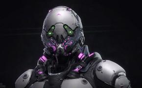 Picture armor, Keos Masons, Vector Brigade's Brawler Unit