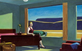 Picture 1957, Edward Hopper, Western Motel