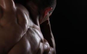 Picture muscle, man, body, sports, fitness, strong
