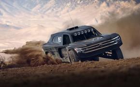 Picture Volkswagen, the roads, 4x4, 2019, Atlas Cross Sport R Concept