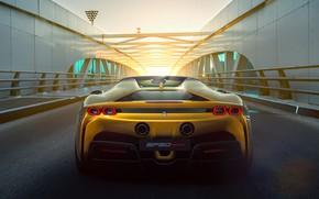 Picture Ferrari, Ferrari, hybrid, Spider, 2021, SF90
