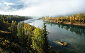 Picture Nature, Autumn, River
