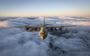 Picture weapons, the plane, Hercules, Royal Air Force, C130J