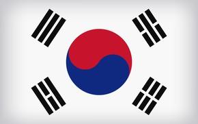 Picture South Korea, Flag, Flag Of South Korea, South Korea Large Flag, South Korean Flag
