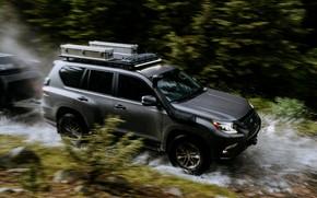 Picture movement, Lexus, Toyota, 2019, Lexus GX, GXOR (GX Off-Road) Concept, Land Cruiser Prado