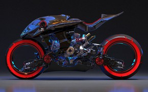 Picture design, motorcycle, bike