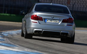 Picture grey, BMW, sedan, F10, 2013, feed, M5, M5 Competition