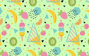 Picture background, texture, fruit, green, background, pattern