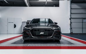 Picture Audi, front view, ABBOT, universal, TFSI, RS 6, 2020, RS6-R, V8 Twin-Turbo, RS6 Avant, 4.0 …