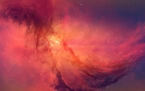 Picture Stars, Space, Nebula, Fantasy, Art, Stars, Space, Art, Fiction, Nebula, Fiction, Josef Bartoň, by Josef …