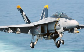Picture US Navy, Fighter Jet, FA-18C Super Hornet, Fighter Aircraft
