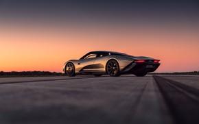 Picture sunset, McLaren, the evening, supercar, hypercar, 2019, Speedtail