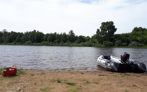 Picture Kur'ya, nature, river, Fishing