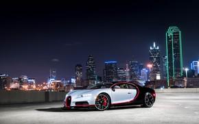 Picture Bugatti, Light, Evening, 16.4, VAG, Sight, Chiron