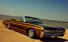 Picture Impala, Lowrider, Custom, Low, 1968 Year