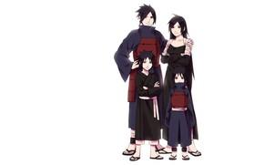 Picture family, Naruto, Naruto, Uchiha