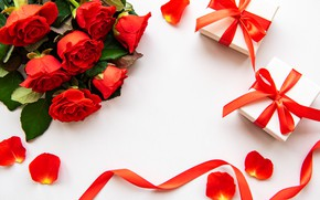Picture holiday, roses, gifts, Valentine's Day, Olena Rudo