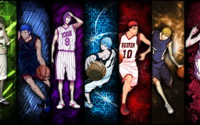 Picture collage, guys, Kuroko's Basketball