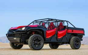 Picture Honda, 2018, Rugged Open Air Vehicle Concept, pick-up-buggy