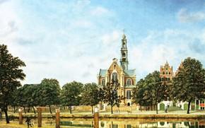 Picture picture, the urban landscape, Jan van der Heyden, Jan van der Heyden, Westercon in Amsterdam