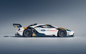 Picture Ford, Ford GT, side view, Mk II, 2019
